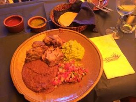 Taqueria del Alamillo : Las carnitas