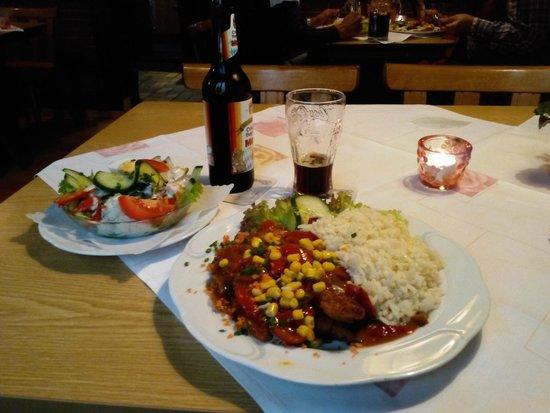 Haus Bergmann: большие и вкусные порции