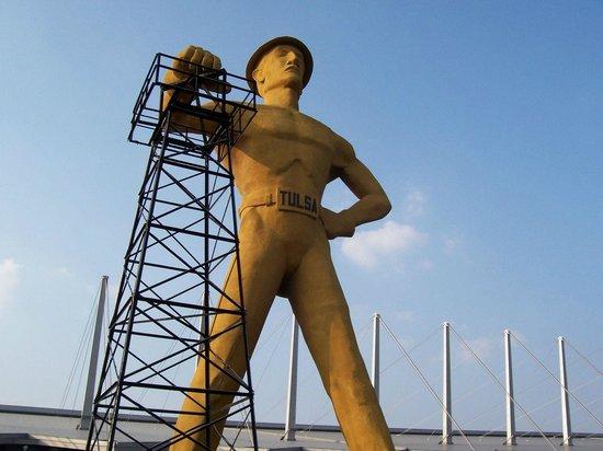 The Golden Driller: Tulsa's Golden Driller
