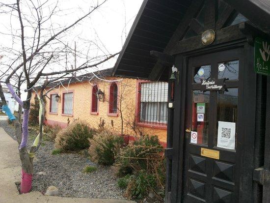 Schilling Hostal Patagonico: Entrada do hostel