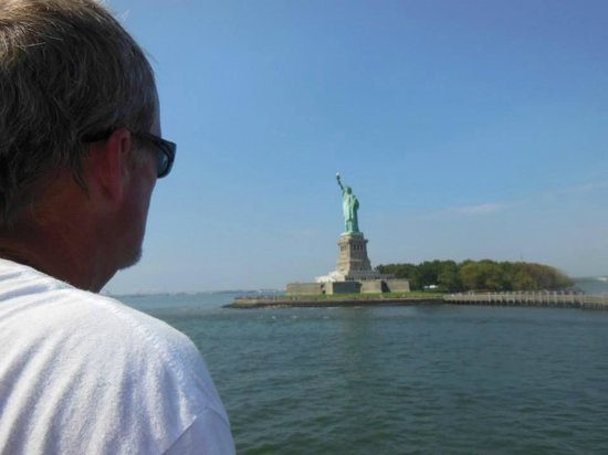 Custom & Private New York Tours Inc: Ron on the Circle Line Ferry