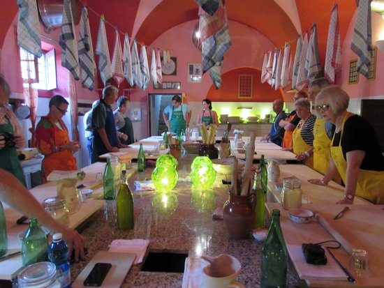 The Awaiting Table Cookery School in Lecce, Italy: Preparing Pasta