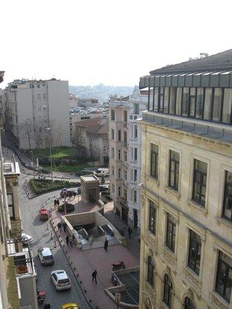 The Pera Hotel: вид из номера