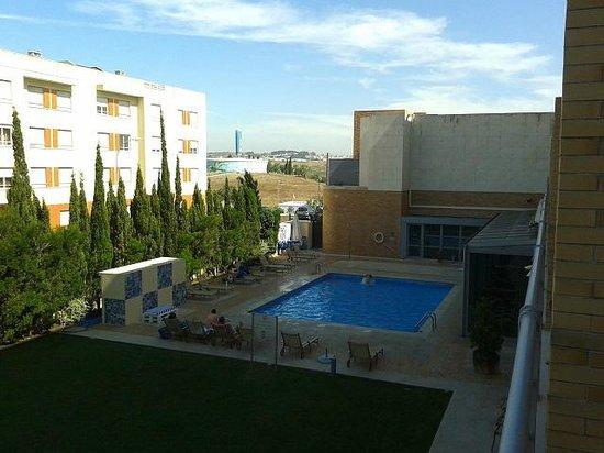 Hotel Real Oeiras : Vista da janela