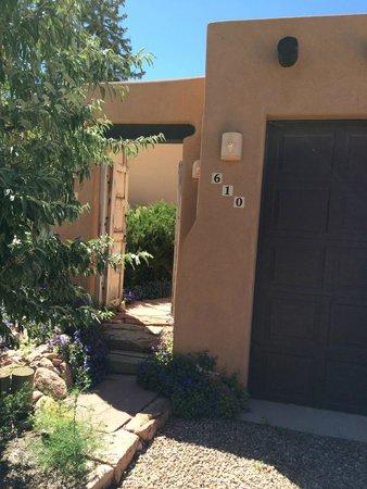 Casa Cuma Bed & Breakfast: Casa Cuma: Entry to Casa de Vistas Suite