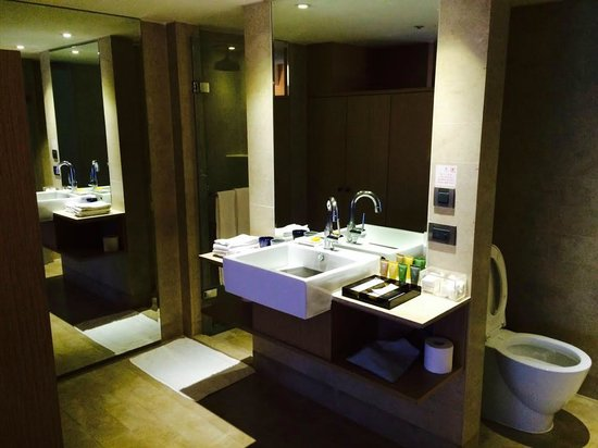 City Suites Taipei Nanxi : 洗面所