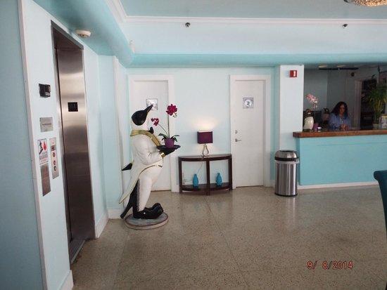 Penguin Hotel Lobby