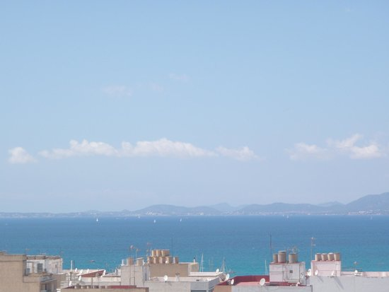 HSM Reina del Mar: view from the balcony of 8th floor