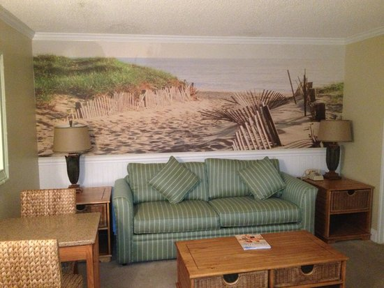 Biscayne Suites: Superior Living Room