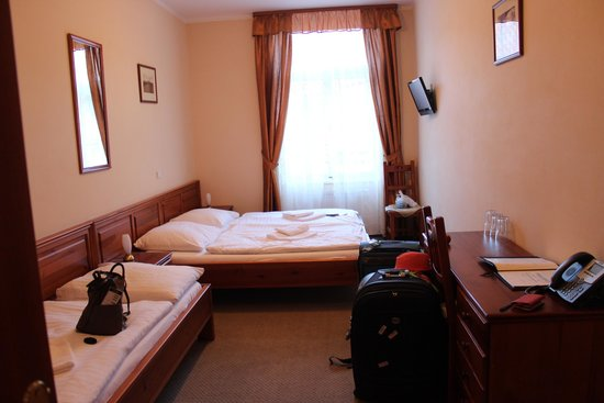 Hotel Liliova Old Town: quarto espaçoso