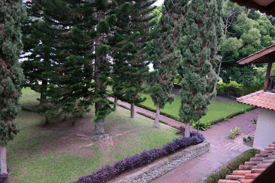 Pandu Lakeside Hotel : View from Room 17 Balcony (Level 2)