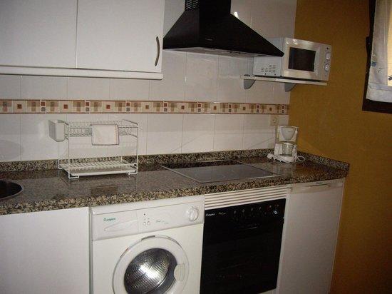 Apartamentos Rurales Obaya: Cocina