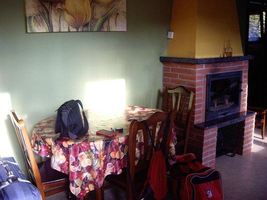 Apartamentos Rurales Obaya: Comedor