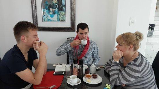 A Villa de Mer: Breakfast