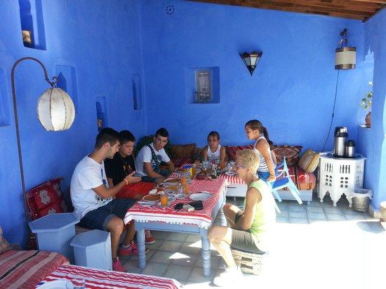 Casa Perleta: Desayuno en la azotea