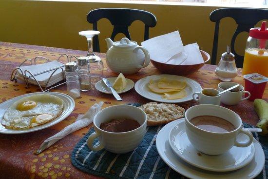 Residencial Alto Fortim : The buffet breakfast