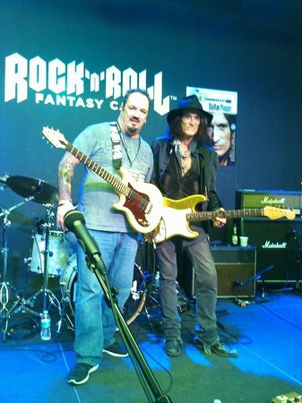 Rock 'N' Roll Fantasy Camp - Rock Star for a Day Experience: Me and Joe Perry of Aerosmith