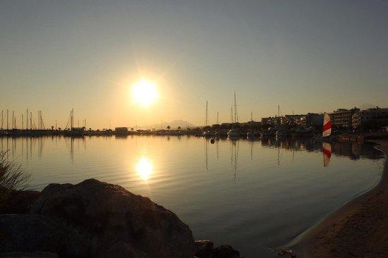 AQUILA Porto Rethymno Hotel: Потрясающие восходы