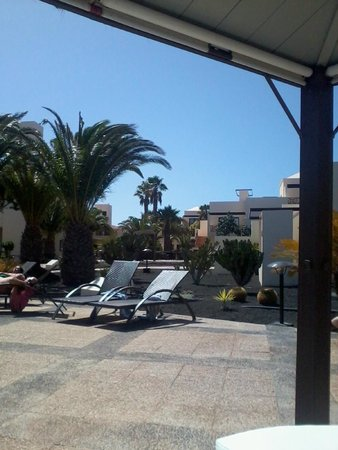 Vitalclass Lanzarote Sport & Wellness Resort: View from the pool terrace