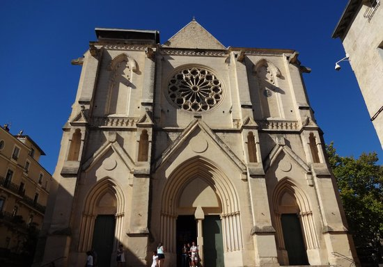 Eglise Saint-Roch, Montpellier, France.