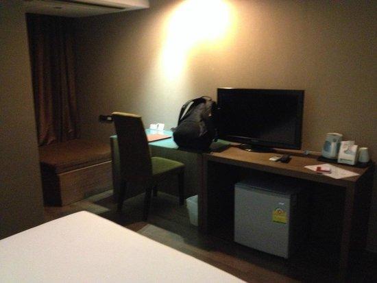 Bangkok City Hotel: 客室