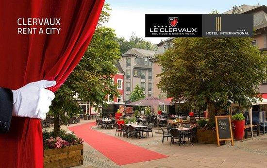 Le Clervaux Boutique & Design Hotel: Aussenansicht