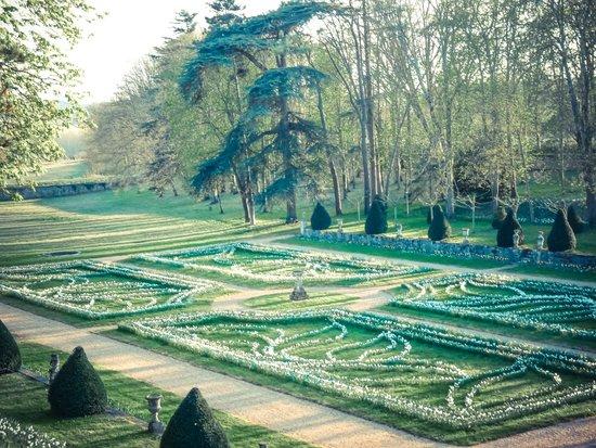 Jardins et château de La Chatonnière : Jardin de la Danza de los Narcisos