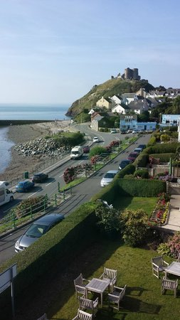 Caerwylan Hotel: View from Room 22