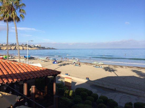 La Jolla Shores Hotel: View to the La Jolla Cove