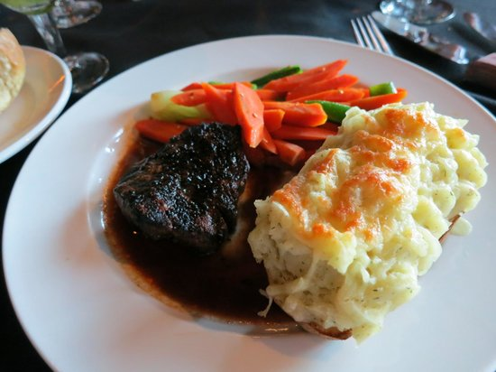 Fernie Cattle Company: Petit Filet w/ Twice Baked Potato