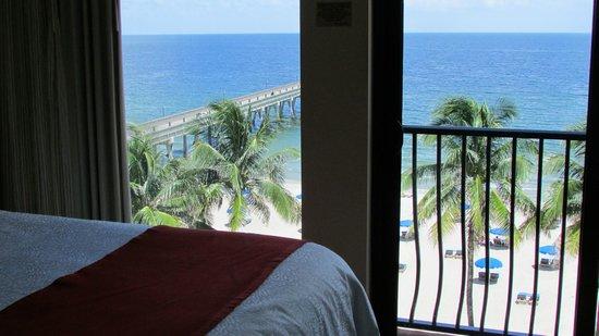 Wyndham Deerfield Beach Resort: View from our room