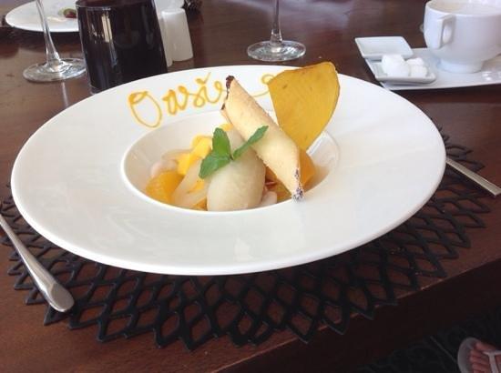 Sakala Beach Club: My Divine Oasis - a signature dessert
