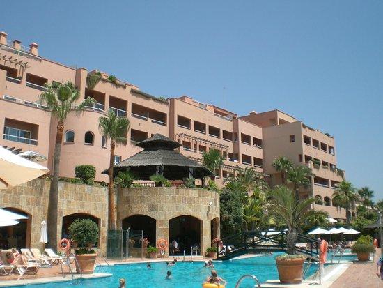 Gran Hotel Elba Estepona & Thalasso Spa: vue de l'hôtel