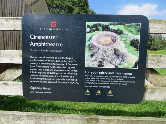 Cirencester Amphitheatre: what it looked like 2000 years ago