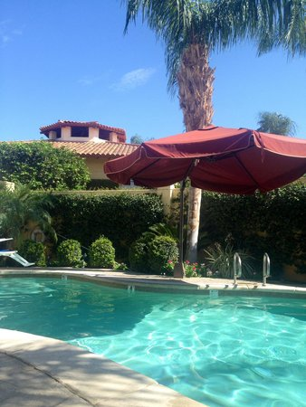 Miramonte Indian Wells Resort & Spa: Private pool at the Well spa