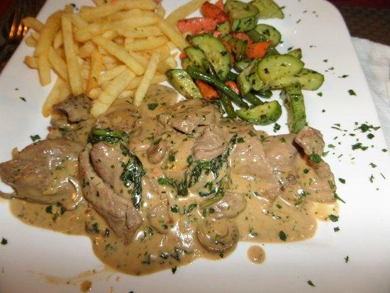Chez Mario : Vegetais deliciosos