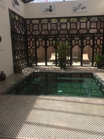 Palais de l'O: The jacuzzi that was used only by me and my other half!!