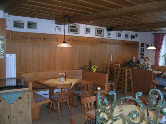 Brauereigasthof Rothenbach: Gasthof innen