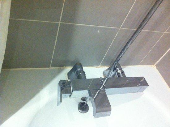 Hotel du Lion : Joints de la baignoire