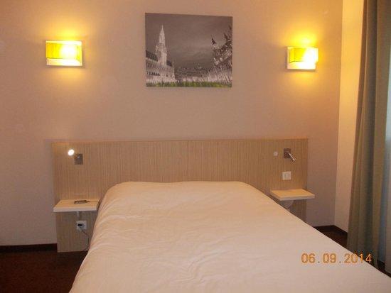 Adagio Access Brussels Europe: άνετο κρεβάτι