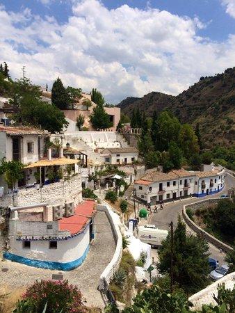 Cuevas El Abanico : The view from hotel