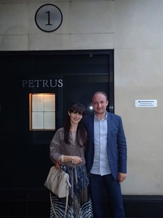 Petrus: After lunch, main entrance.