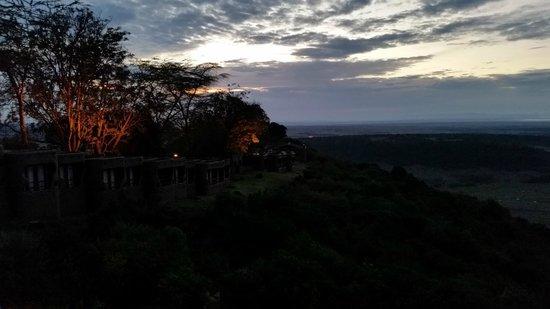 Mara Serena Safari Lodge : Morning light