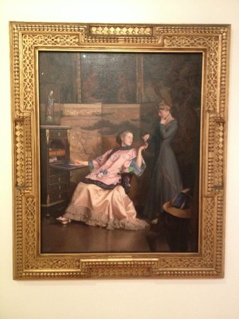 Bellagio Gallery of Fine Art : The New Necklace by William McGregor Paxton