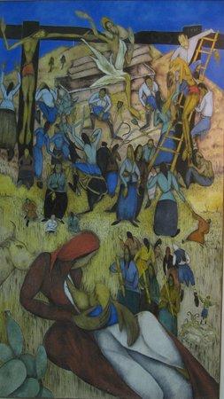 Municipal Art Gallery of Rhodes: Peinture exposée à la galerie