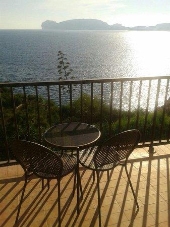El Faro Hotel: La vista dal balcone della camera