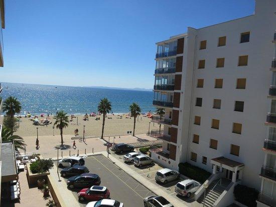 Hotel Monterrey : Vista desde el balcon de la 305 hacia la bahia