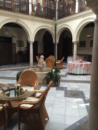 Hotel Palacio Marques de la Gomera: Hall