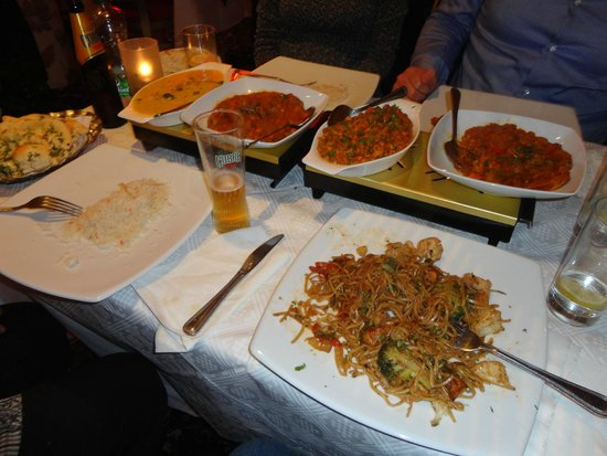 Oran Tandoori: in primo piano gli ottimi noodles