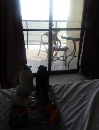 Pietra Flat : Café da manhã na cama